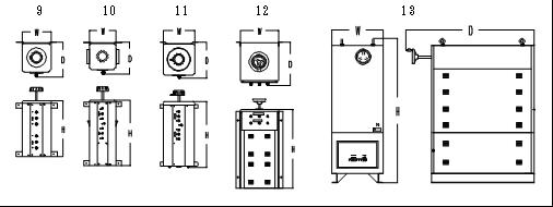 電圧調整器外形②