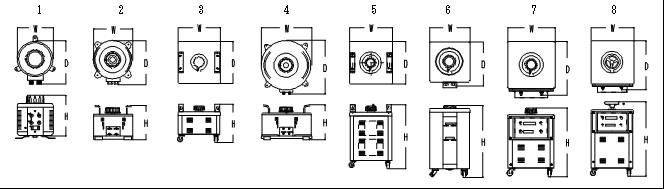 電圧調整器外形④