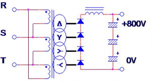 Tr回路図